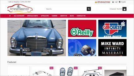auto parts ecommerce script