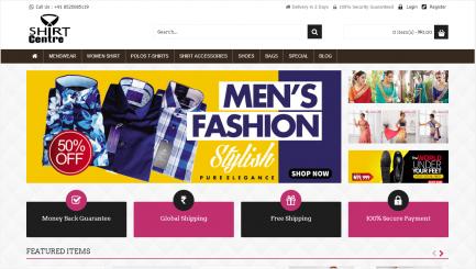 fashion shop ecommerce script